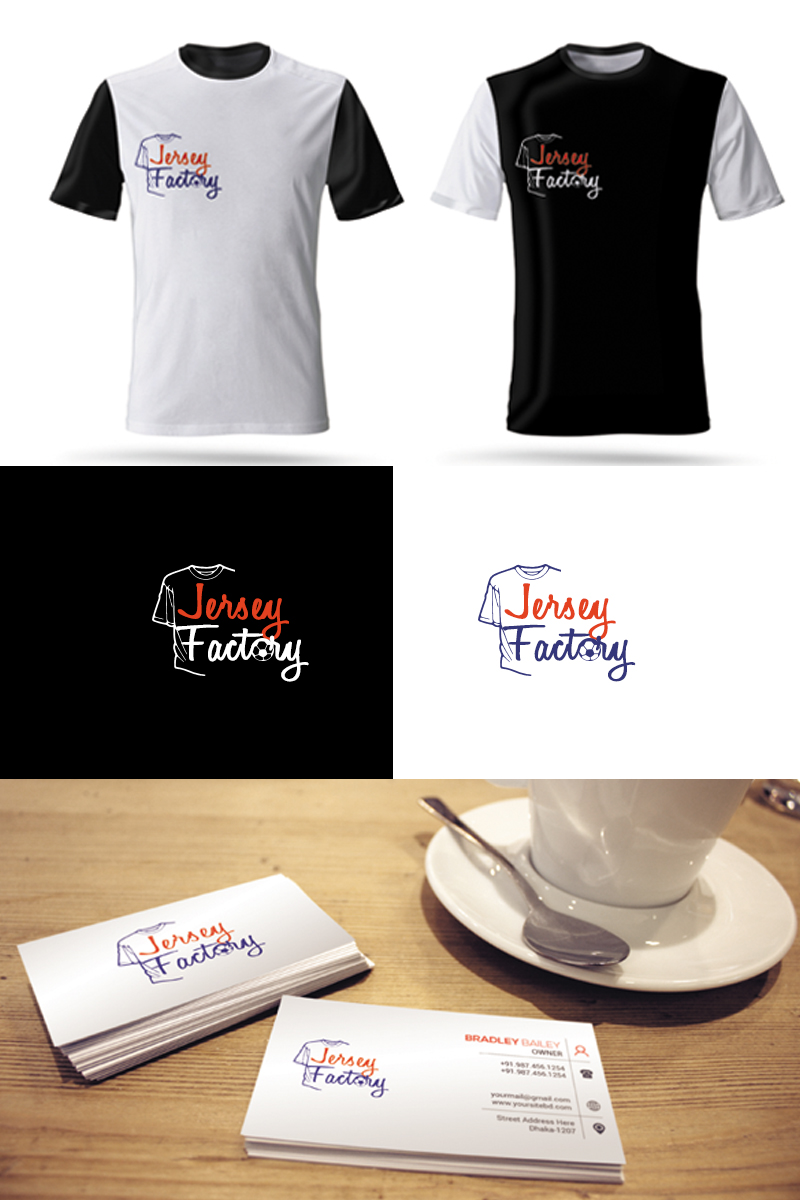 "Logo Vorlage namens ""Jersey Factory"" #94661"