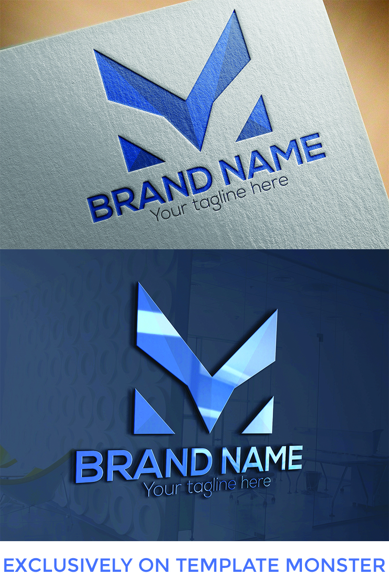 """M Letter  Design"" Logo template №94664"