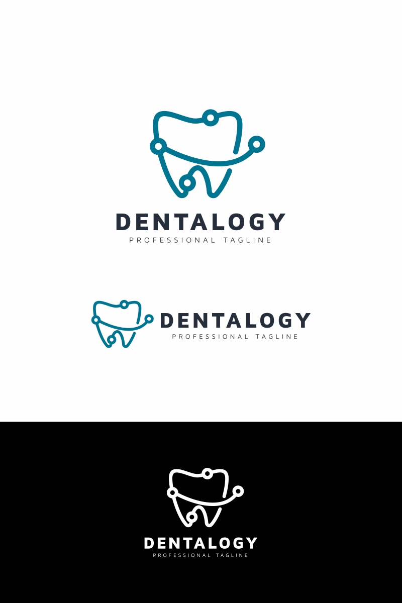 "Plantilla De Logotipo ""Dental"" #94671"