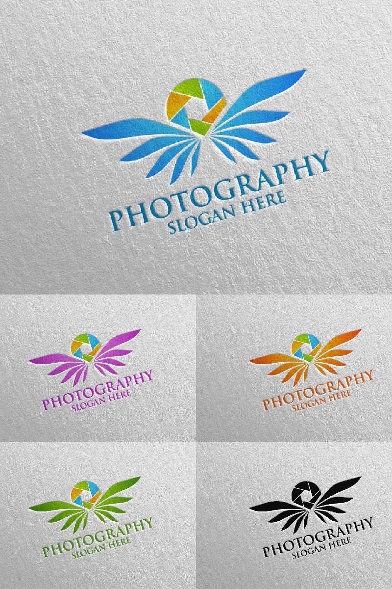 """Plantilla De Logotipo """"Fly Wing Camera Photography 92"""" #94685"""