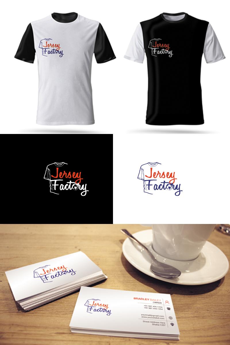 """Plantilla De Logotipo """"Jersey Factory"""" #94661"""