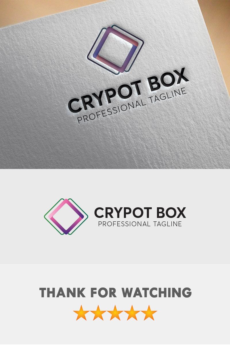 """Šablona logotypu """"Crypto Box"""" #94669"""