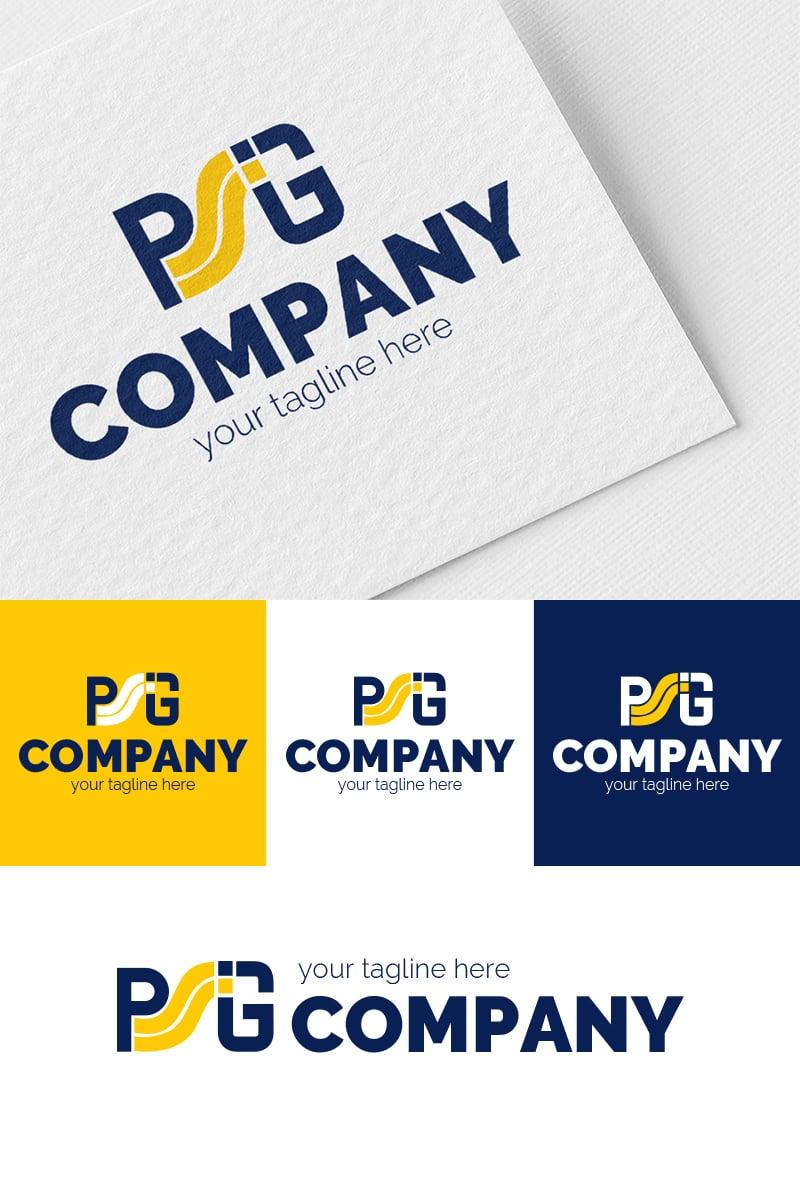 "Šablona logotypu ""P + G + S"" #94638"
