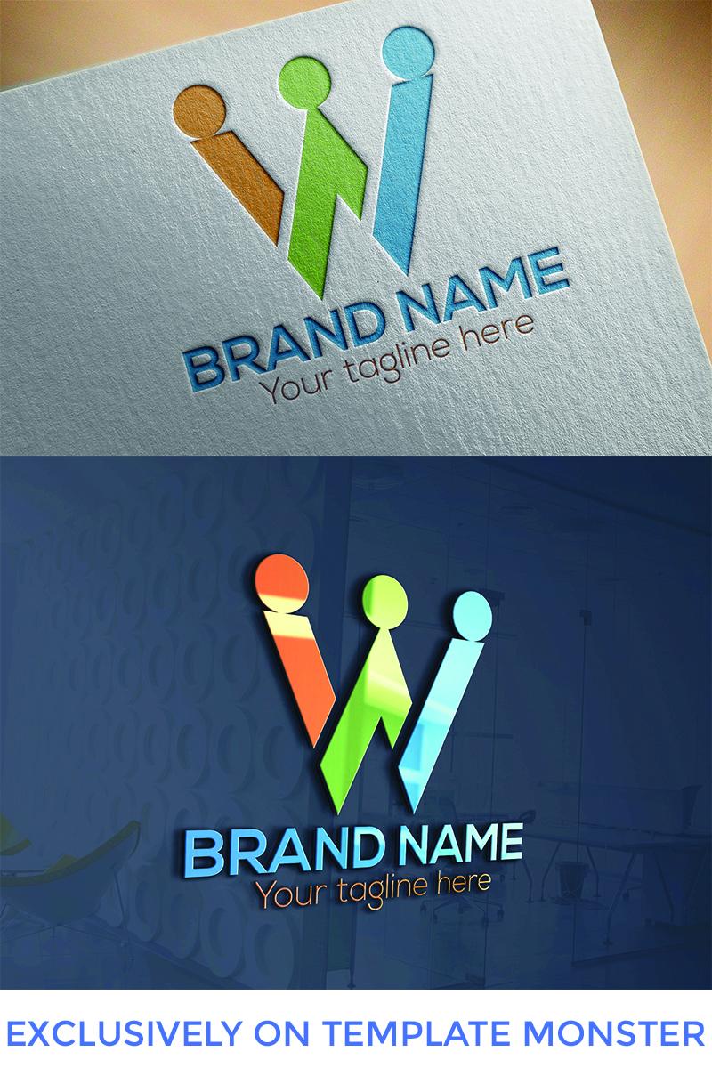 "Šablona logotypu ""W Letter  Design"" #94667"