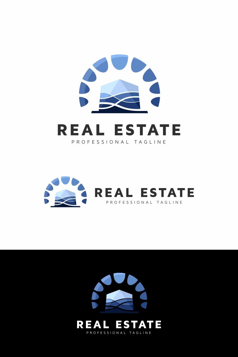 Sea Homes Estate Logo Template
