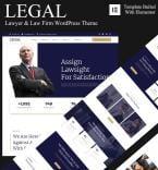 Юриспруденция и закон. Шаблон сайта 94795