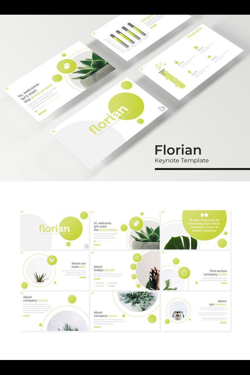 """Florian"" Keynote Template №94743"
