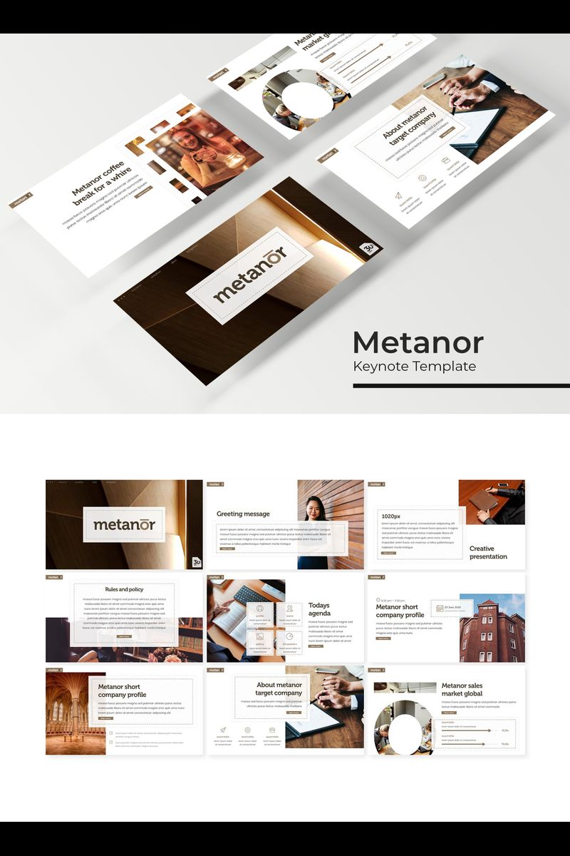 Metanor Template para Keynote №94739