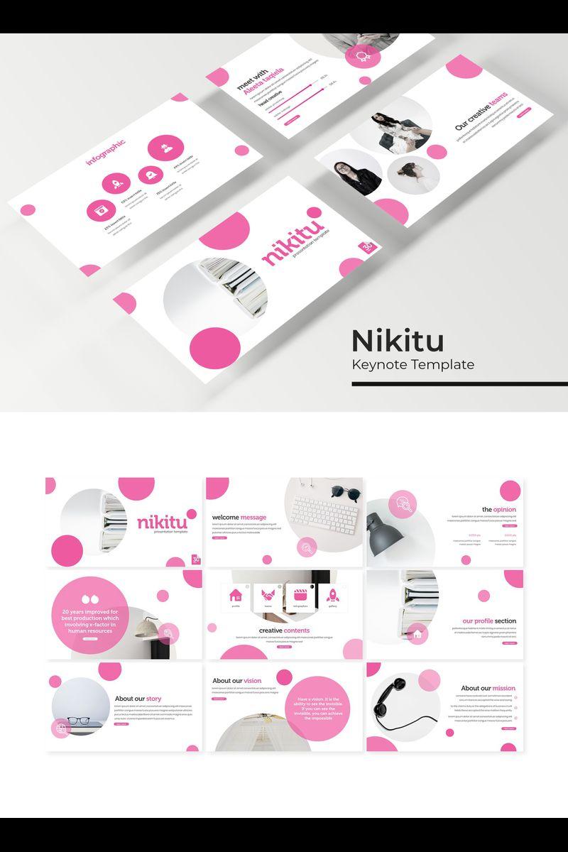 """Nikitu"" Keynote Template №94738"