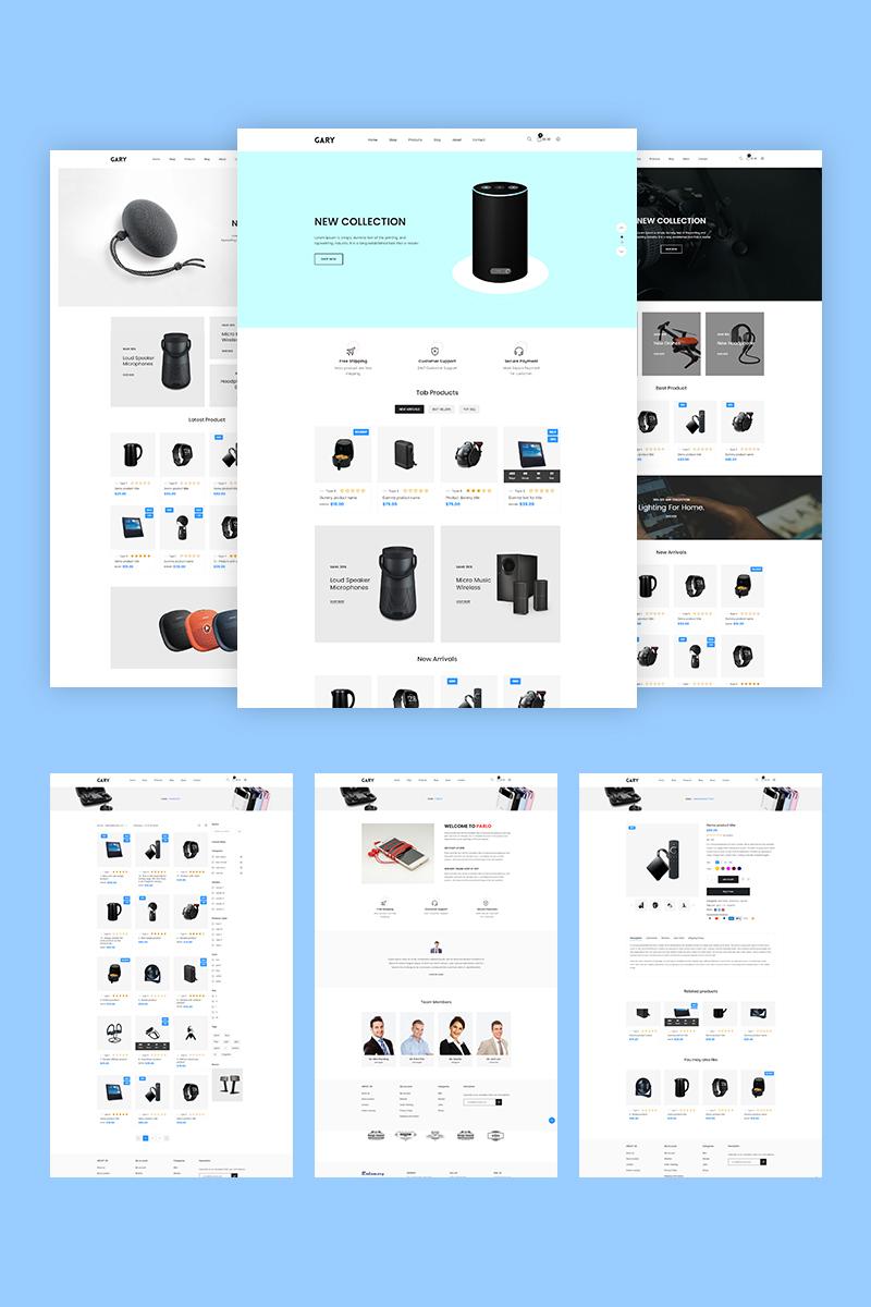 """Responzivní Shopify motiv """"Gary - Electronics"""" #94792"""