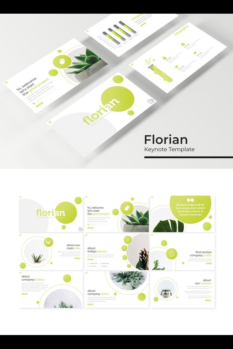 "Šablona pro Keynote ""Florian"" #94743"
