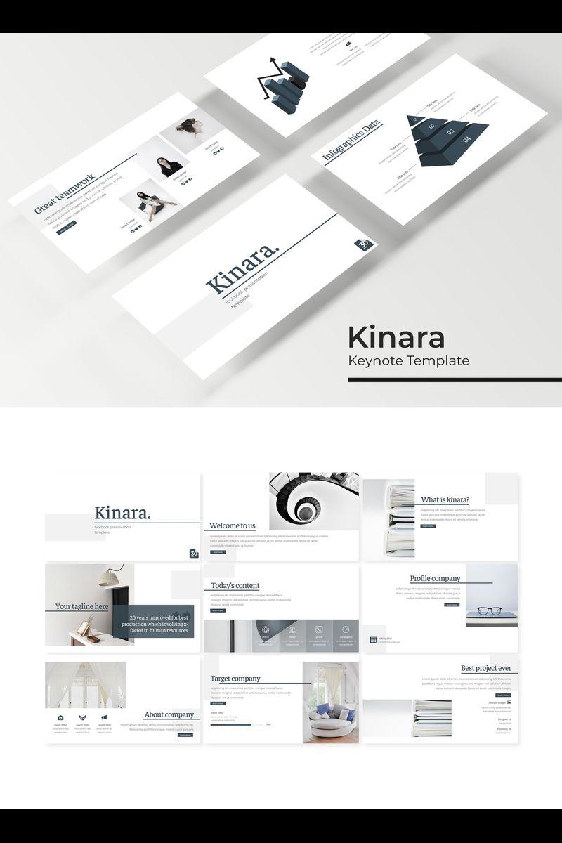"Šablona pro Keynote ""Kinara"" #94742"