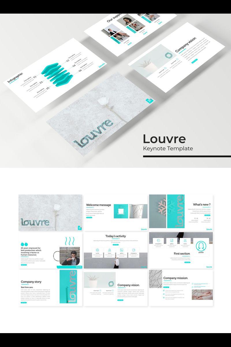 """Šablona pro Keynote """"Louvre"""" #94741"""