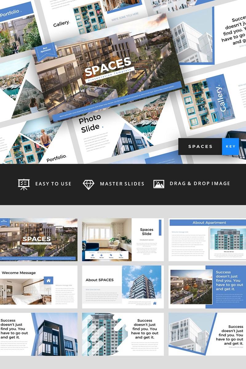 "Šablona pro Keynote ""Spaces - Apartment"" #94745"