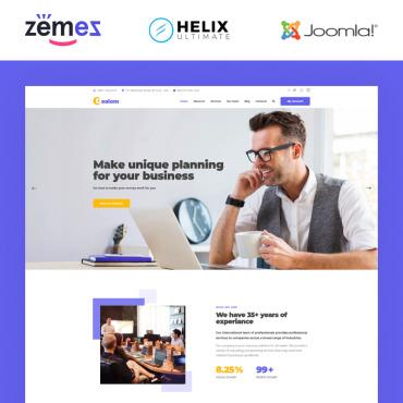 Купить  пофессиональные Joomla шаблоны. Купить шаблон #94893 и создать сайт.