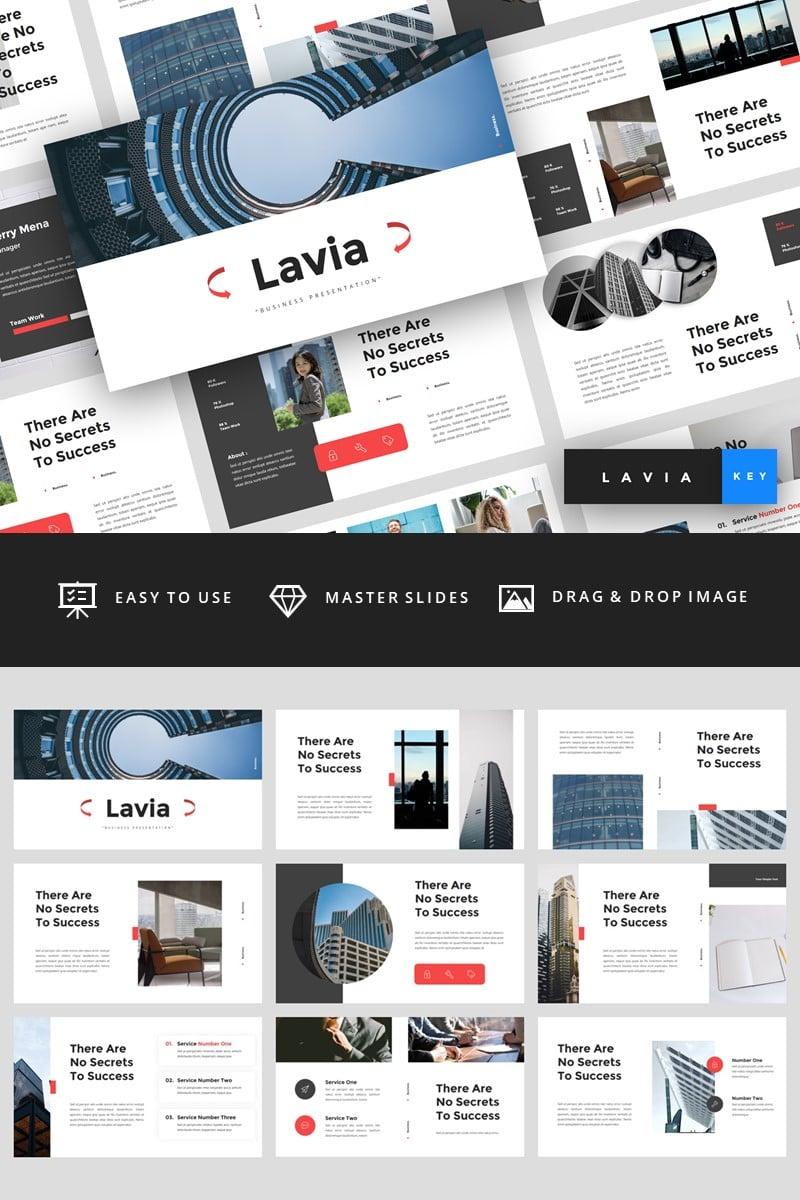 "Plantilla Keynote ""Lavia - Business"" #94827"