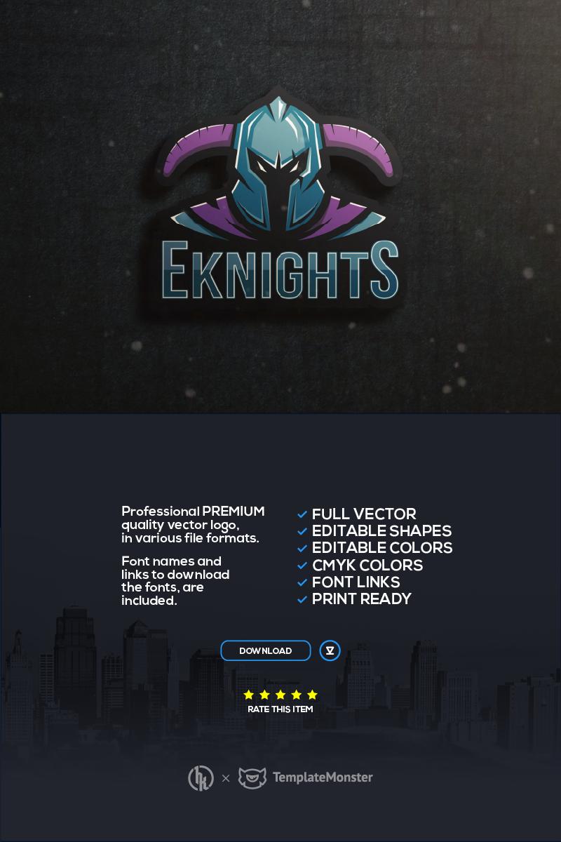 Eknights Template de Logotipo №94991