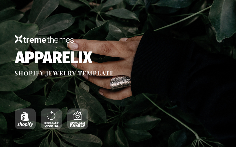 Jewelry Online Store Shopify Theme №94969
