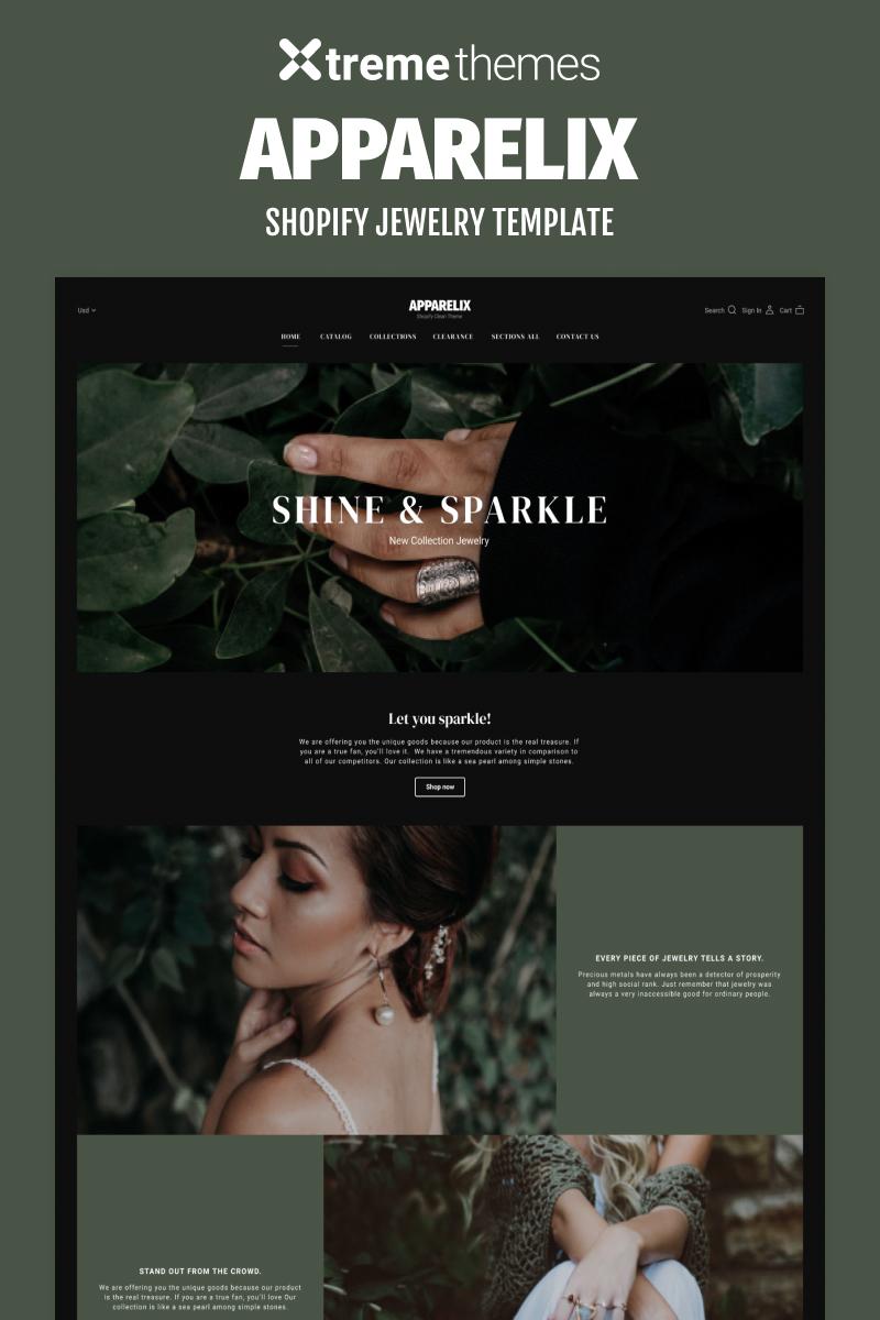 Jewelry Online Store Shopify Theme Shopify Theme - screenshot