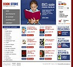 OsCommerce: Books Online Store/Shop osCommerce Templates