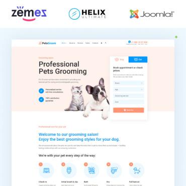 Купить  пофессиональные Joomla шаблоны. Купить шаблон #95021 и создать сайт.