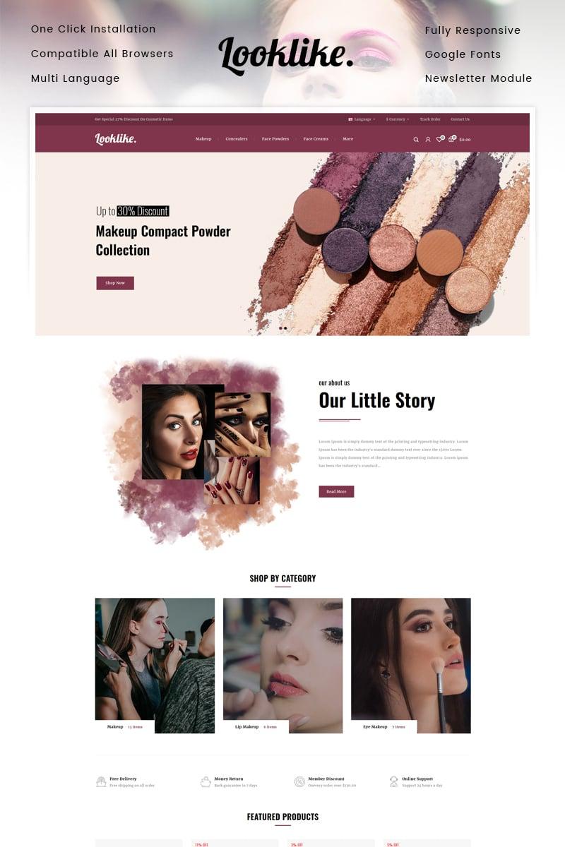 LookLike - Cosmetics Store OpenCart Template