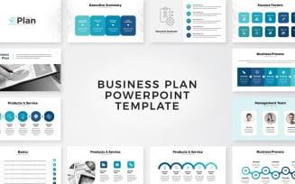 Business Plan Presentation PowerPoint Template