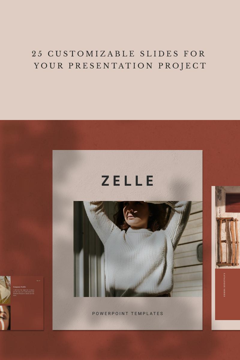 ZELLE PowerPoint Template