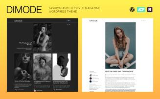 DIMODE - Fashion and Lifestyle Trends Magazine WordPress Theme