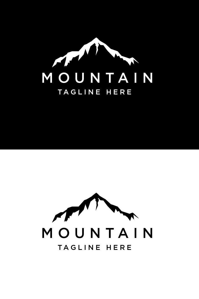 Line Mountain Logo Template - screenshot