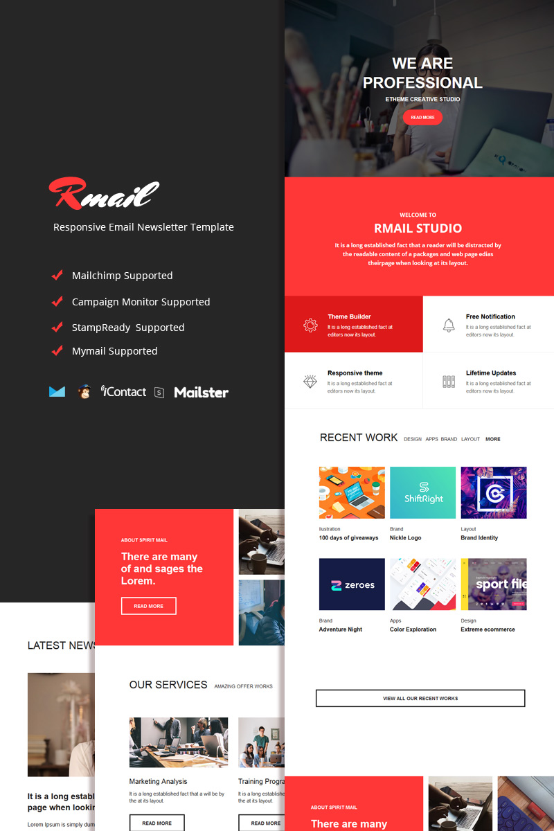 Rmail - Responsive Email №95369