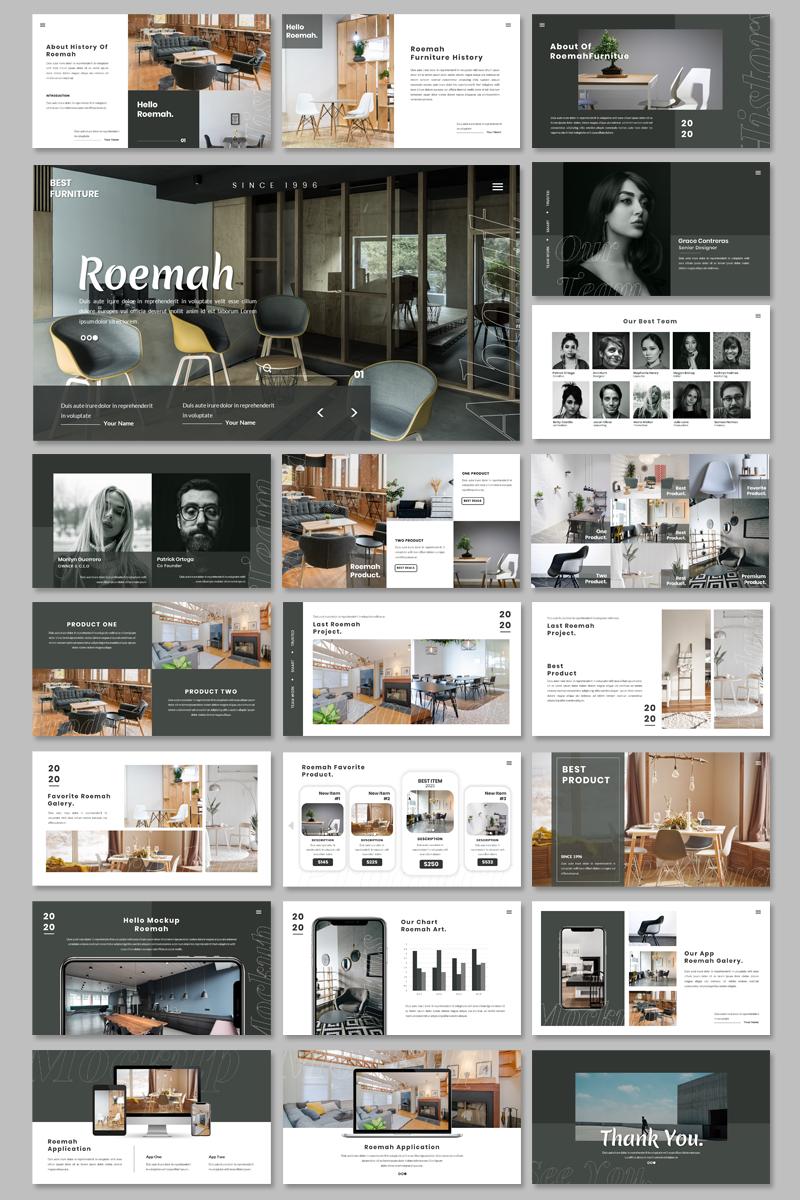 Roemah - Furniture & Home Decoration Google Slides