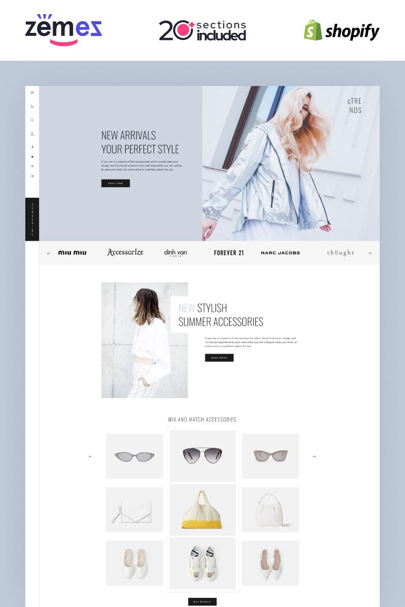 """Shopify Lookbook Carousel Template"" - адаптивний Shopify шаблон №95367"