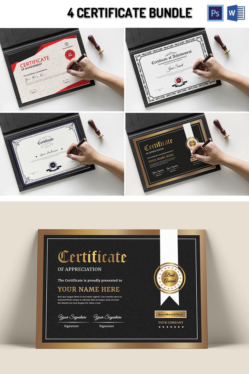 Smeet 4 Certificate Template 95385