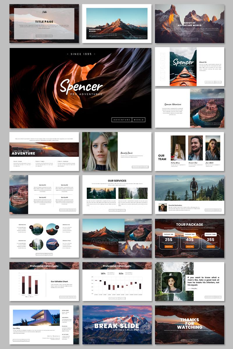 Spencer - Creative Google Slides