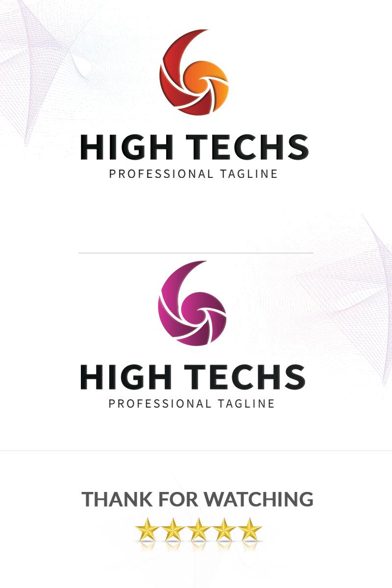 HighTechs Logo Template - screenshot
