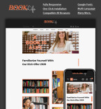 Шаблоны книжных сайтов. Шаблон сайта 95557
