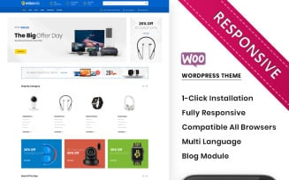 Mixonic - The Electronic Store WooCommerce Theme