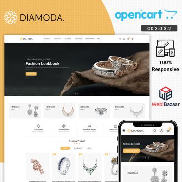 Купить  пофессиональные OpenCart шаблоны. Купить шаблон #95559 и создать сайт.