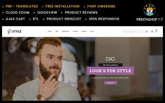 F-style Fashion Shop PrestaShop Theme