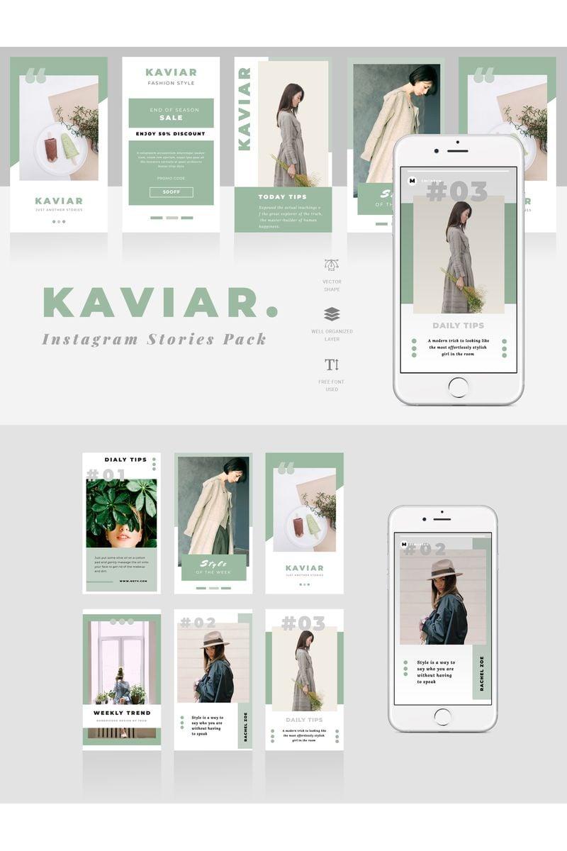 Kaviar  - Instagram Stories №95517 - скриншот