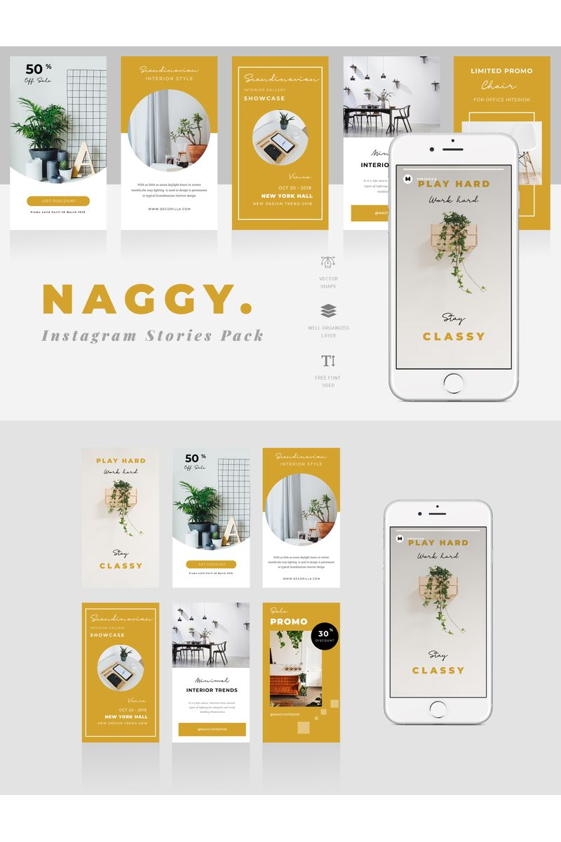 Naggy  - Instagram Stories Social Media