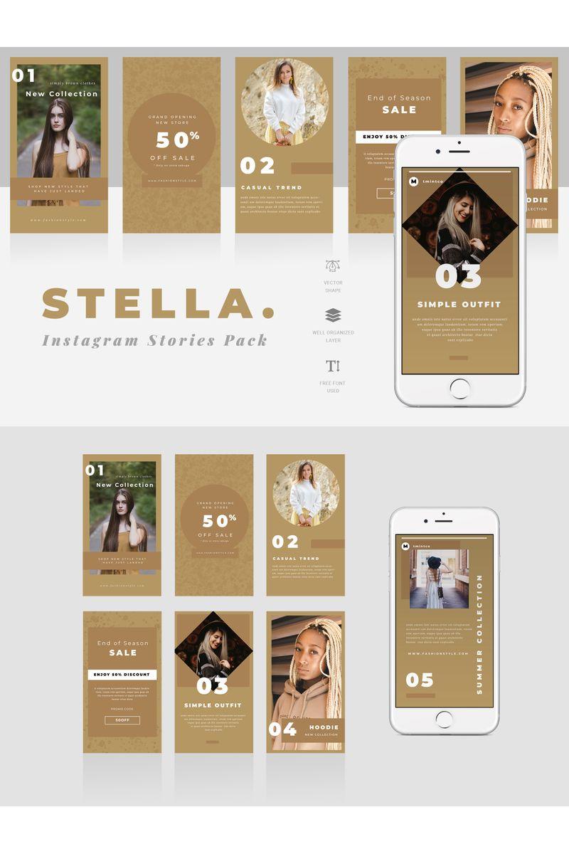 Stella  - Instagram Stories Social Media - screenshot