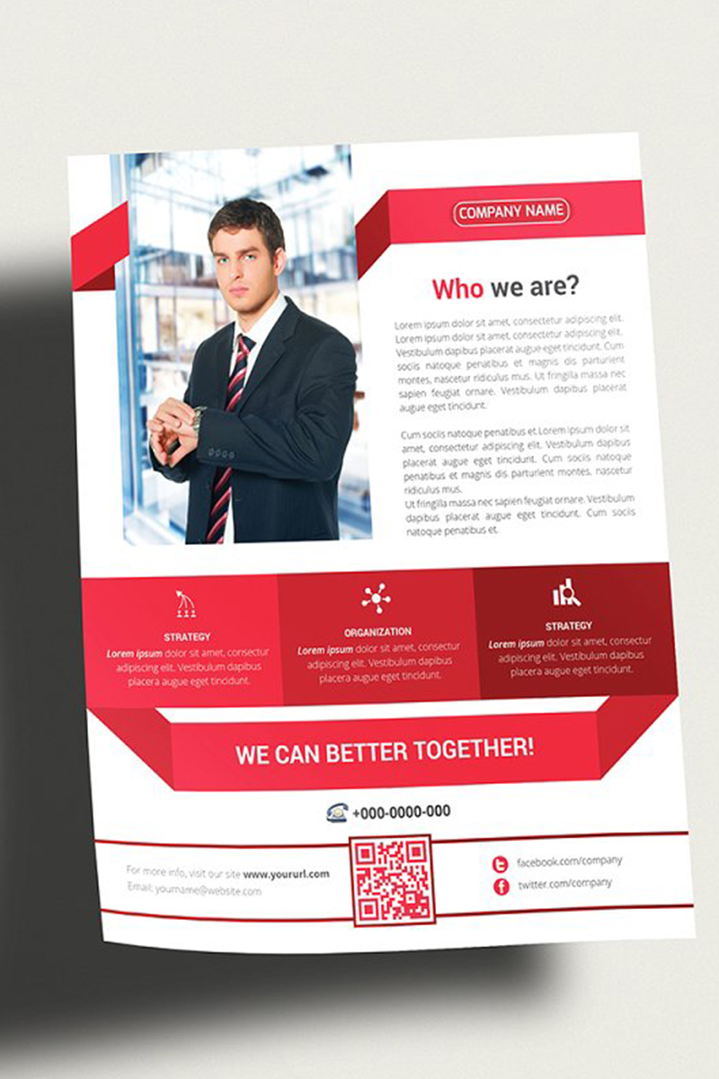 Marketing Flyer Corporate Identity Template