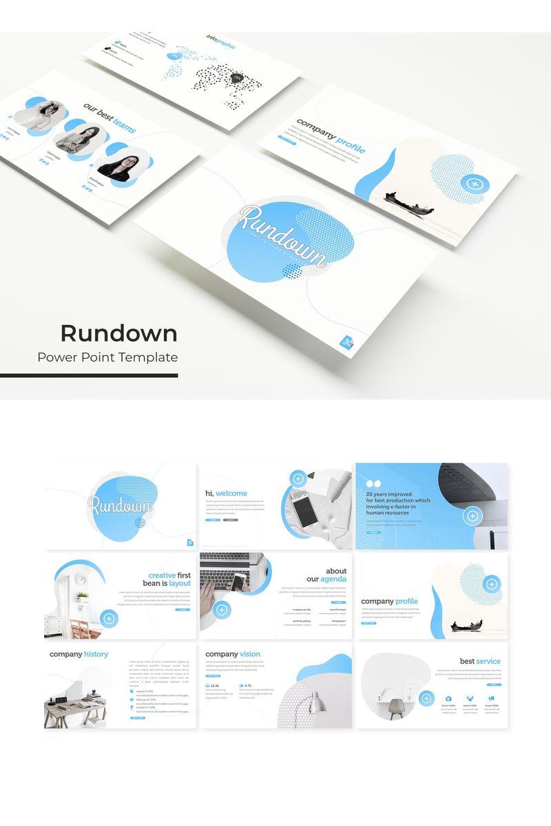 "Template PowerPoint #95614 ""Rundown"""