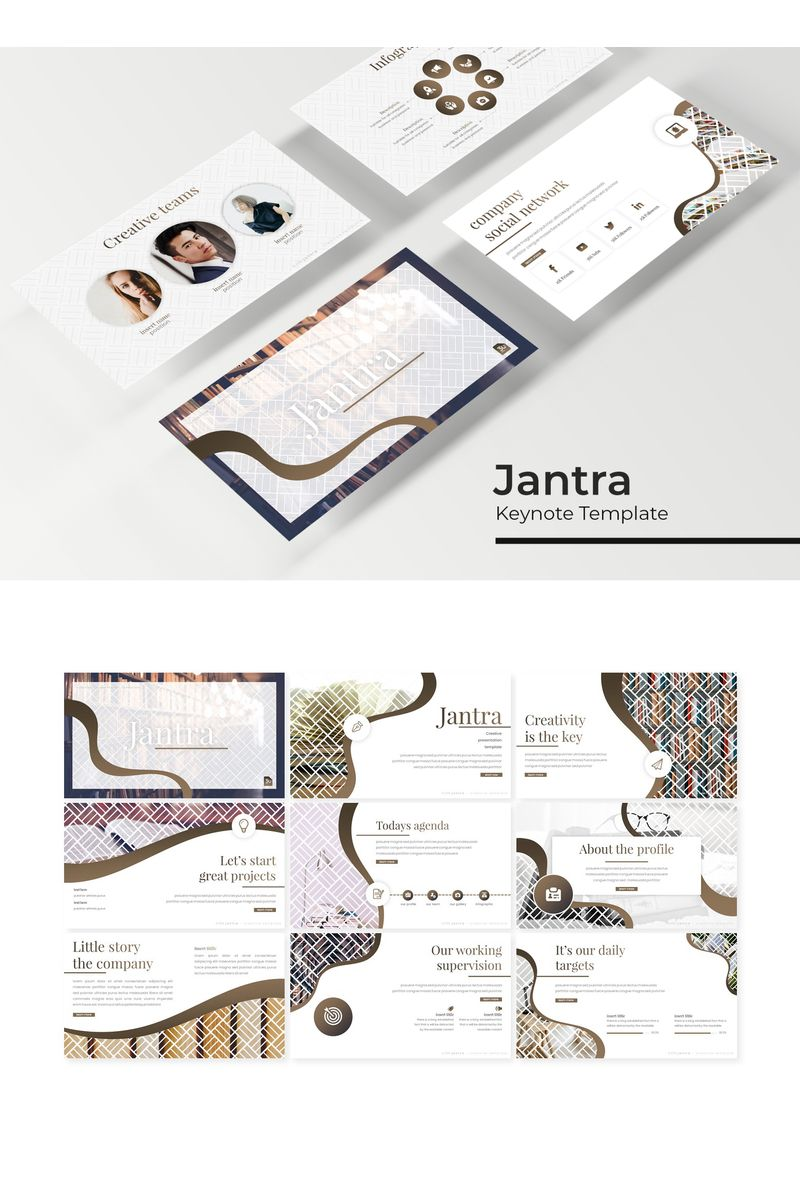 Jantra Keynote Template - screenshot