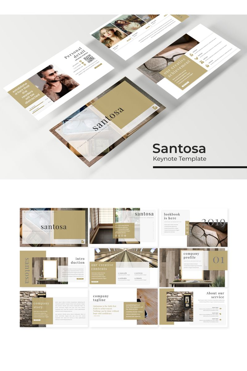 Santosa Keynote Template - screenshot