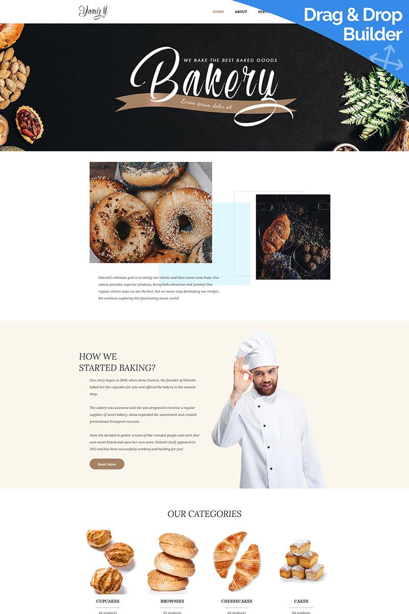 Yamiz - Bakery Moto CMS 3 Template