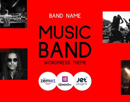 Freebone - WordPress Music Band WordPress Theme