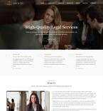 Юриспруденция и закон. Шаблон сайта 95850